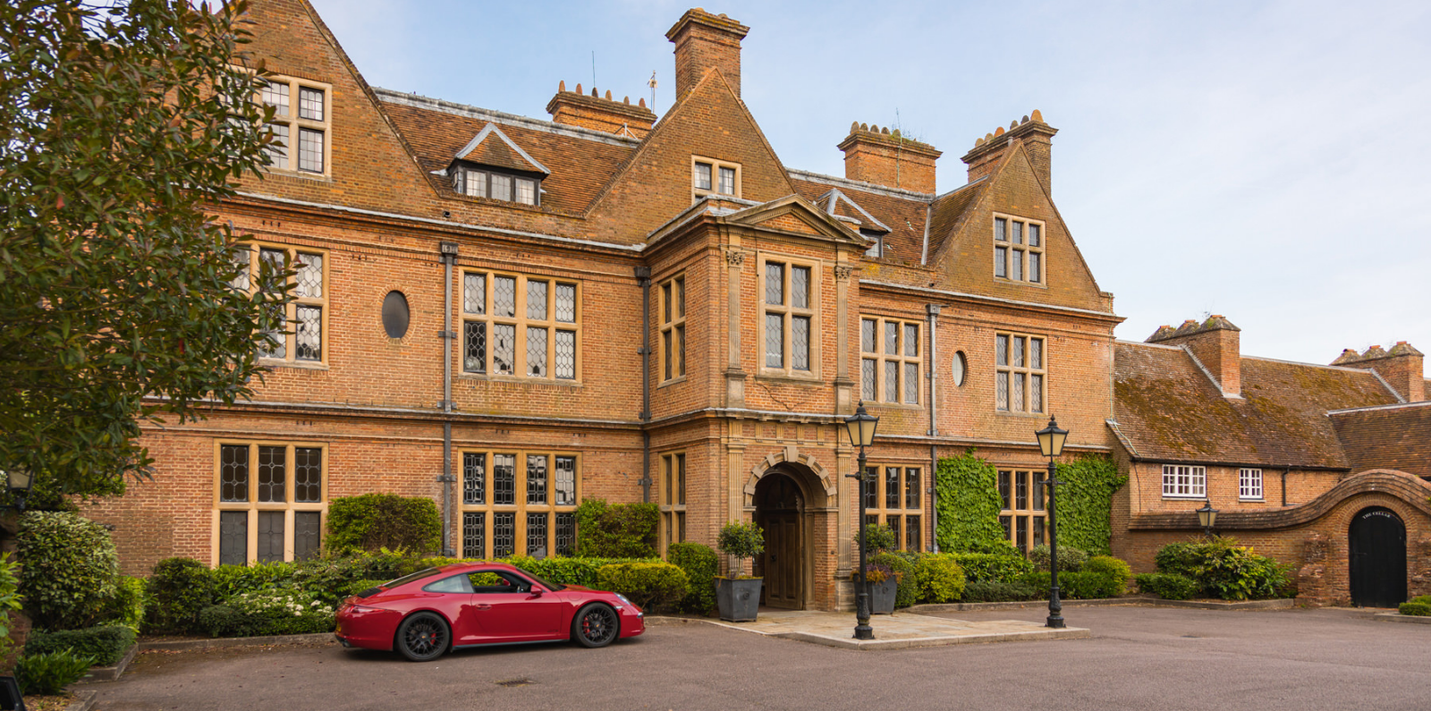 Front of Manor